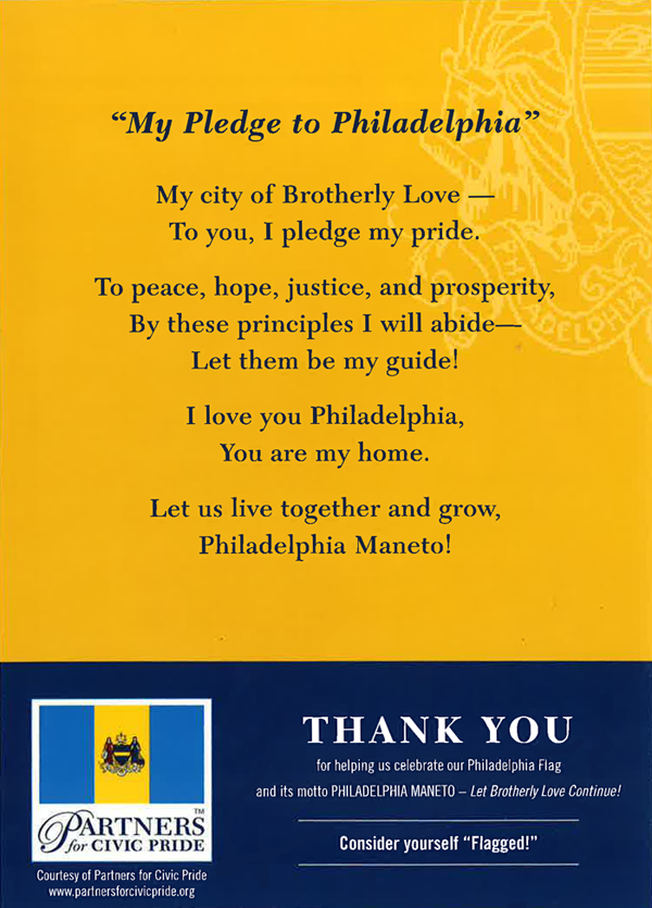 The Philly Pledge